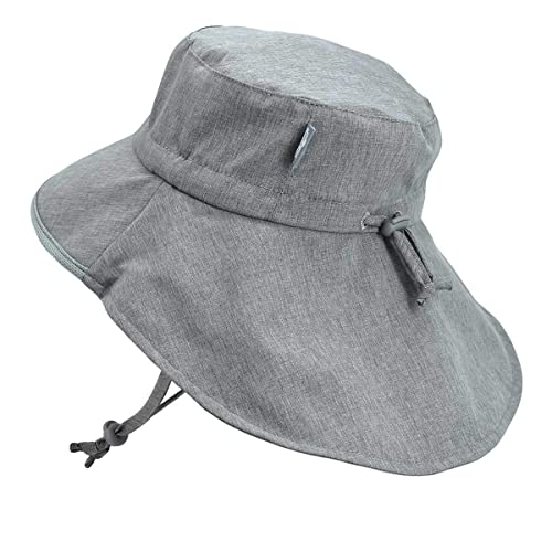 55c1c4d1 Buy Baby Toddler Kids Wide Brim 50+ UPF Sun-Hat with Neck Flap Chin-Strap  Adjustable with Ubuy Kuwait. B07MR5PPQT
