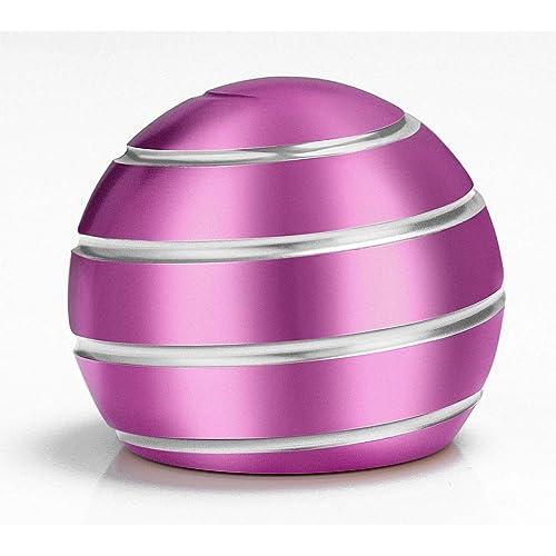 Blue ShowDoo Kinetic Desk Toy Full Body Optical Illusion Fidget Spinner Ball Top