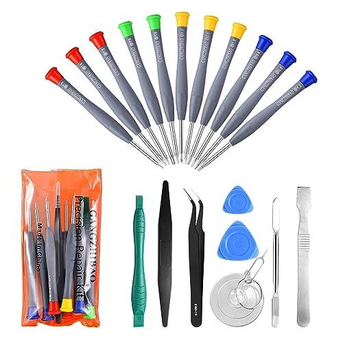 cb44122f1c159b 21pcs Precision Screwdriver Set Magnetic,GangZhiBao Repair Tools Kit for Fix  Phone/iphone,