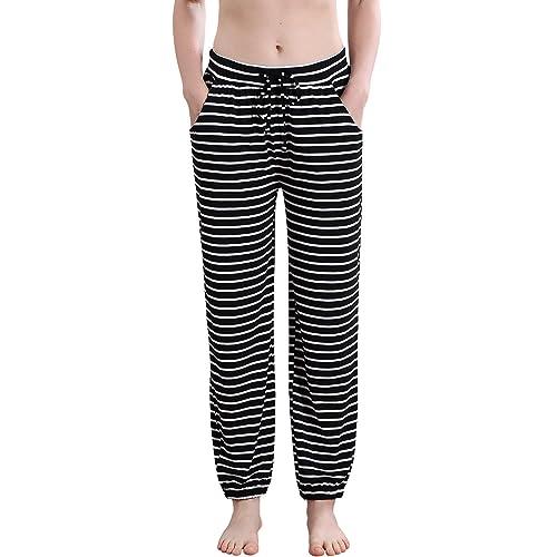 488c120f4 Buy Vislivin Women's Stretch Knit Pajama Pants Modal Sleep Pant with ...