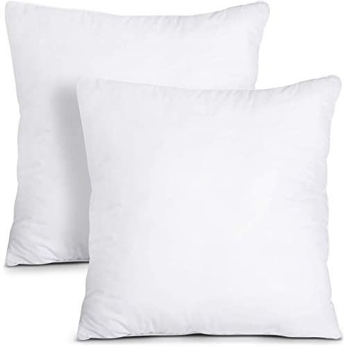 Pillow Insert 20 x 26 Polyester Filled Standard Cover 4 Pack