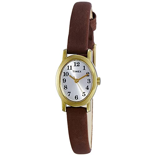 Buy Timex Womens TW2P60400 Cavatina Black Croco Pattern Leather Strap Watch  Online in Kuwait. B07834FWYZ
