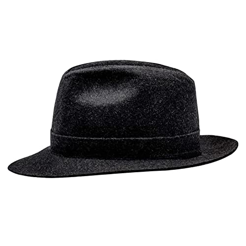 Sterkowski Woolen Sewn Trilby Hat Vintage Style