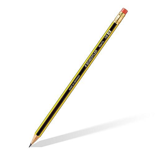 2 x Staedtler Noris Eraser Rubber LARGE Size Pencil School Art Original HB NEW