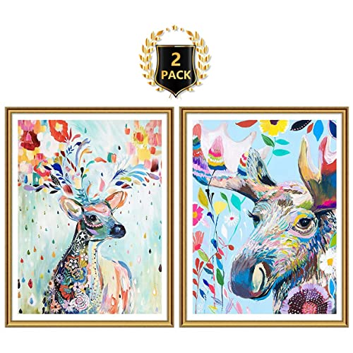 Yomiie 2 Pack 5D Diamond Painting Full Drill Skull By Number Kits For Kids Adult