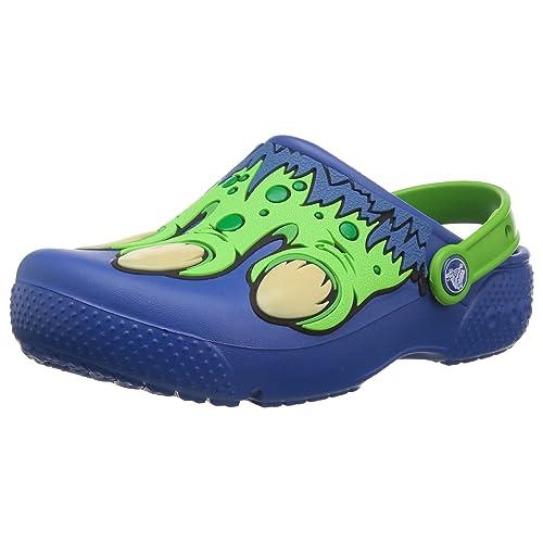 5 M US Toddler Blue Jean Crocs Unisex Crocband Fun Lab Creature Clog K