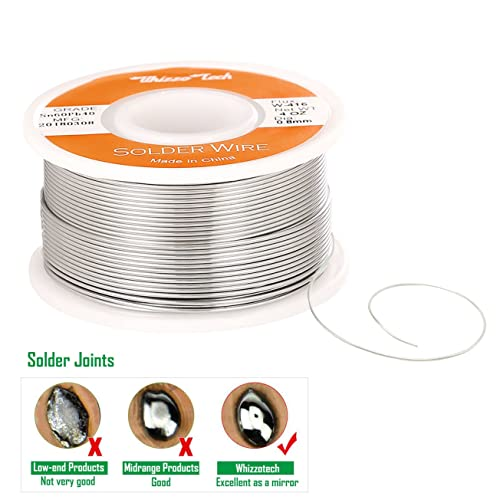 "60//40 Tin Lead Rosin Core Solder Wire Electrical Sn60 Pb40 Flux 0.031/""//0.8mm 1lb"