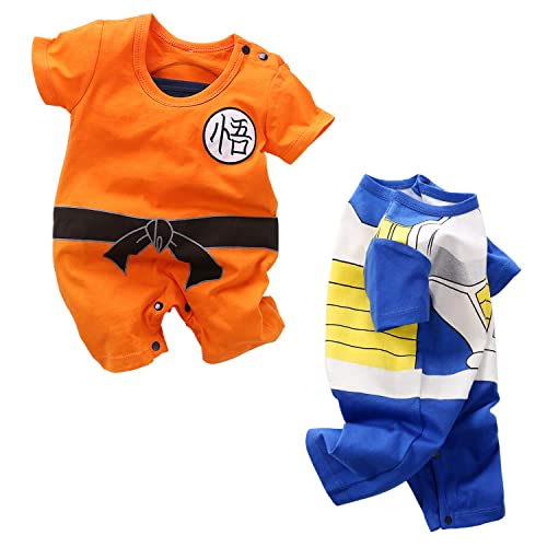 Beal Shopping Cute Cartoon Baby Romper Newborn Infant Toddlers Boy Girl Cosplay Costume Clothing