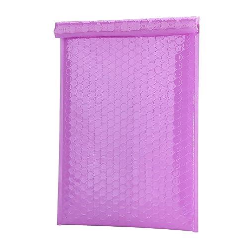 25 Hot Pink 324mm x 230mm C4 Shiny Metallic Bubble Padded Bag Mailing Envelopes