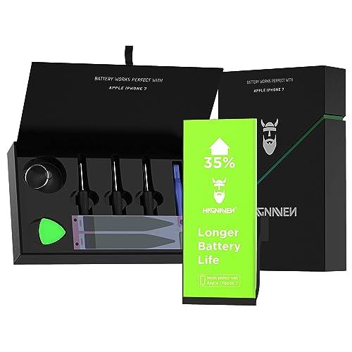 2019 Ann/ée Smartex/® Black Label Batterie Compatible avec iPhone 7-1960 mAh