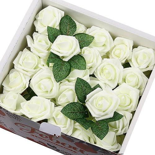 100Pcs Artificial Roses Flowers Bouquet Wedding Bride Decoration Dark Blue