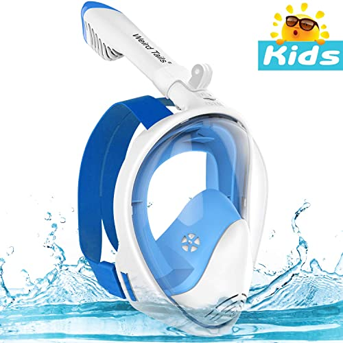Epoch Making/Full Face Snorkel Mask 180/° Panoramic View Snorkel Mask with Advanced Breathing System for Adult and Kids Snorkel Set