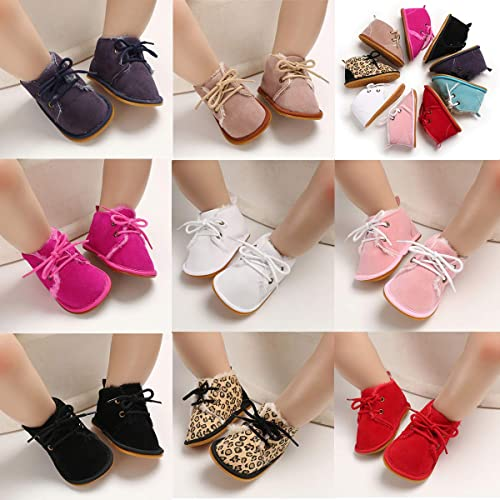BENHERO Winter Newborn Baby Girls Boys Booties Rubber Sole Non Skid Shoes