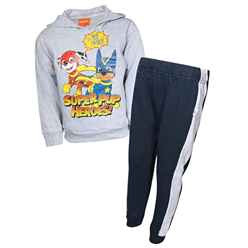 Nickelodeon Boys 2-Piece Paw Patrol PP Pullover Hoodie and Jogger Pant Set
