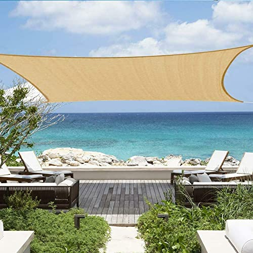 Greenbay Sun Sail Shade Canopy Awning for Outdoor Patio Garden 3mx3m Square in Charcoal