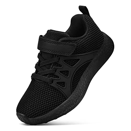 New Boys Girls Knitted  Sneakers Tennis Shoes Running Kids Youth Athletic Lace