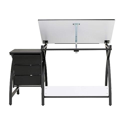 Super Buy Sd Studio Designs Venus Craft Station W Stool Black Bralicious Painted Fabric Chair Ideas Braliciousco