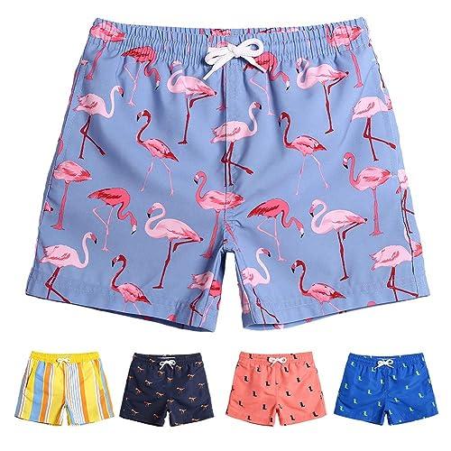 4f0afc824d242 Buy MaaMgic Boys Kids Cute Short Swim Trunks Boardshorts Quick Dry Swim  Suit with Drawstring with Ubuy Kuwait. B07FN5TXQN