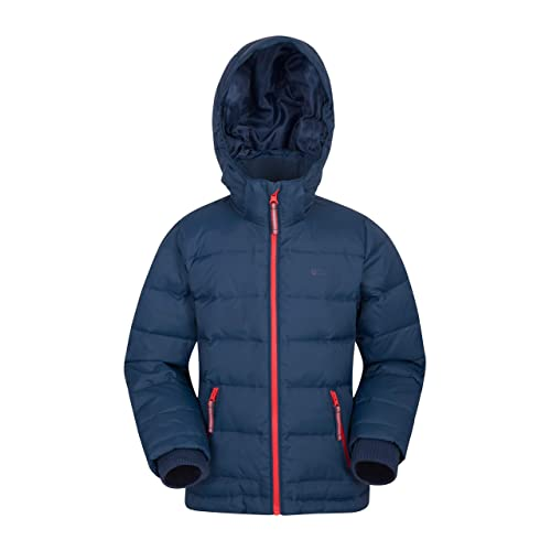 Breathable Ultra Warm Childrens Jacket Elasticated Cuffs and Hem 90/% Down 10/% Feather 600 Fill Power Perfect for School Camping Hiking TOG 24 Dowles Kids Packable Insulated Lightweight Jacket