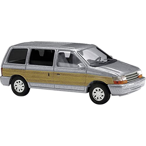 BUSCH 44623 PLYMOUTH VOYAGER SILVER 1:87