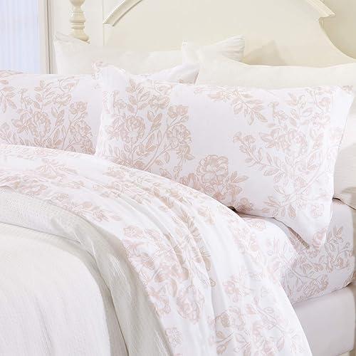 Turkish Flannel Sheets Brushed Cotton Supreme Comfort Twin Size Bed Sheet Set