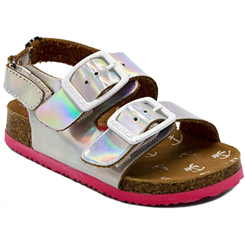 Toddler//Little Kid//Youth Nautica Kids Mikkel Closed-Toe Outdoor Sport Casual Sandals
