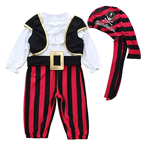 California Costumes Baby Boys Pee Wee Pirate Infant