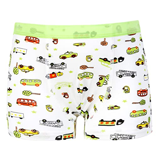CC/&La Dame Underwear Brief Boys Boxer Briefs 5-Pack Cotton Underwear Boxers Boy 2-8 Years