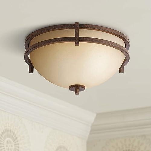Dolan Designs 2815-133 3Lt English Bronze Roxbury 3 Light Semi Flushmount