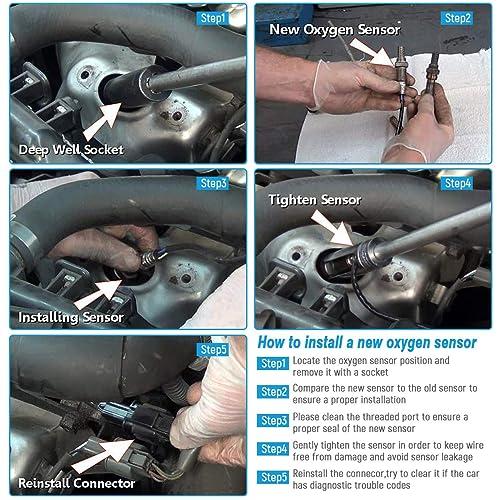 New Down//Upstream O2 Oxygen O2 Sensor for 2001-2008 Ford Escape V6 /& Victoria