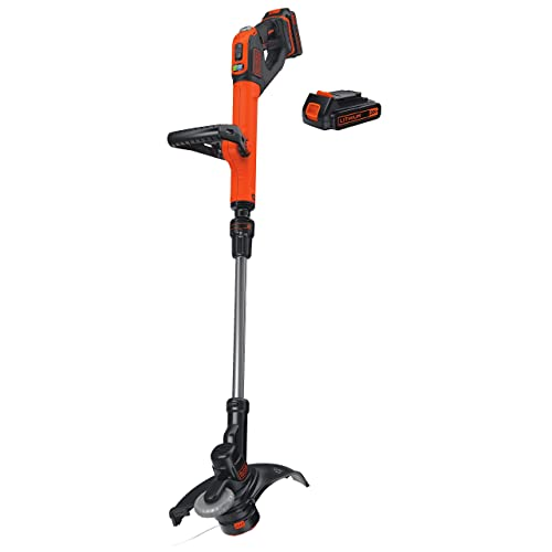 6.5-Amp Renewed 14-Inch Push Button Feed System CMESTE920 CRAFTSMAN String Trimmer