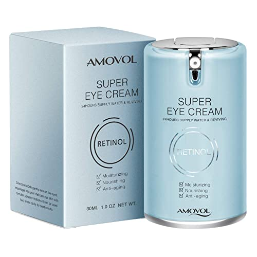 Buy Eye Cream for Dark Circles and Puffiness with Retinol & Grape