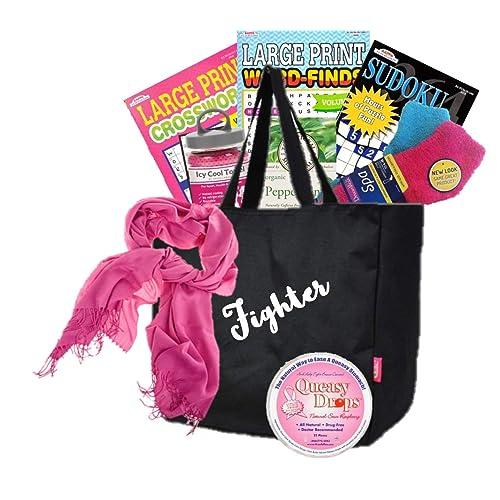 Queasy Fighter Cancer Gift Basket
