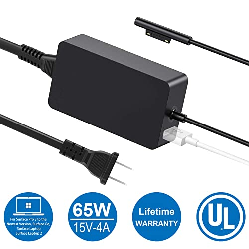 Buy Surface Pro Surface Laptop Charger, 65W(Suitable for 44W, 36W