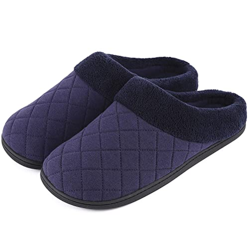 070fc8896d5d0 Buy Men's & Women's Comfort Quilted Memory Foam Fleece Lining House ...