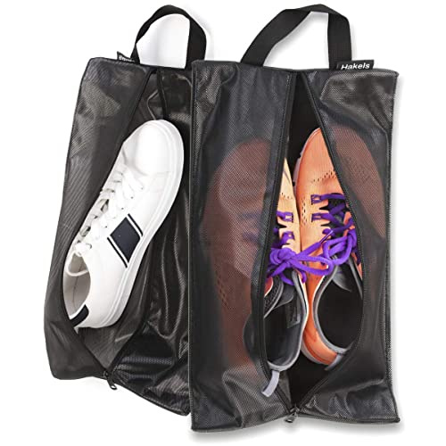 Water Resistant Sneaker Bag for Men /& Women Odor Repellant Hygienic Luggage Packing Organizer Shoe Bags for Travel