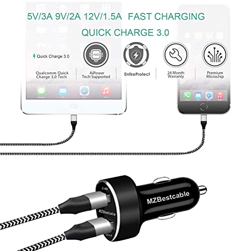 Dual Ports PD /& QC 3.0 Car Adapter with USB Type C to C Cord 4351538516 Meagoes Rapid Car Charger Z3 Play//Z3//Z2 Force//Z2 Play X4 Motorola Phone Compatible Moto G7 Plus//G7 Power//G7 Play//G7//G6 Plus//G6