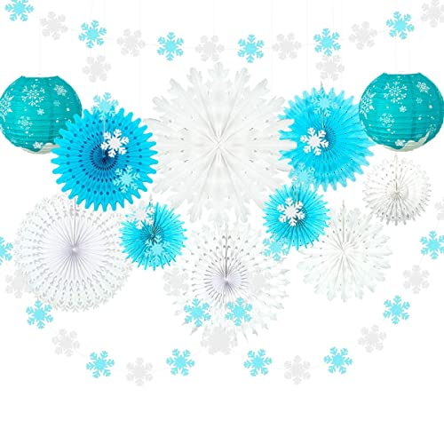 Amscan Snowflake String Decoration-2.1m
