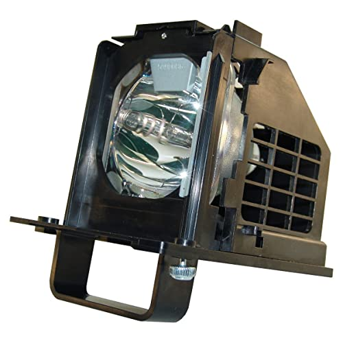 Mitsubishi WD-73833 Replacement TV Lamp with Housing by KCL Original Philips Bulb Inside