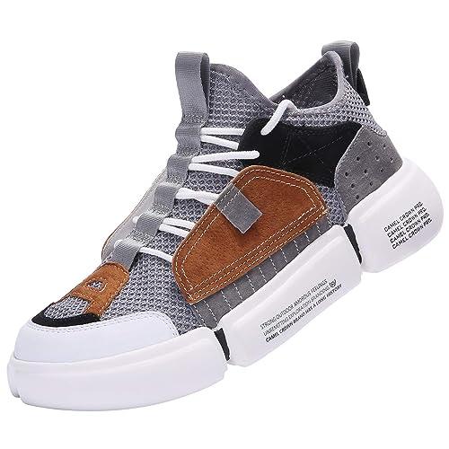 47726f6a3e45c Buy CAMEL CROWN Fashion Sneaker, Lightweight Walking Shoes, Sport ...