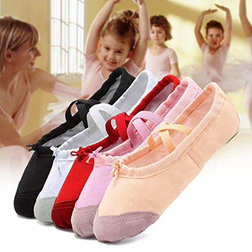 Toddler//Little Kid//Big Kid//Women//Boy Pink CIOR Girls Ballet Slippers Canvas Ballet Shoes Dance Shoes Yoga Shoes Flats
