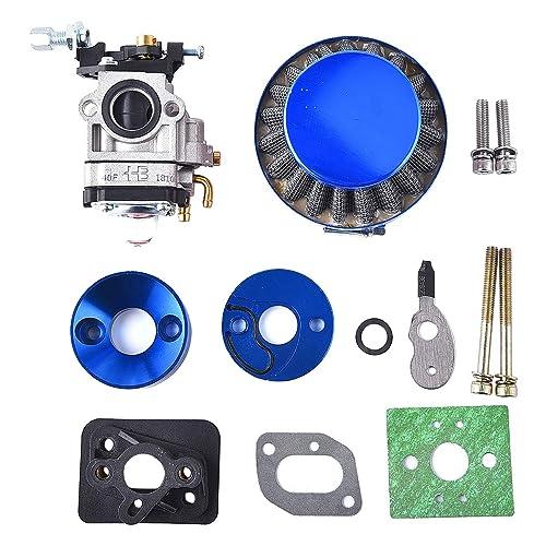 Fuerdi Carburetor for 2 Stroke 47cc 49cc Mini ATV Quad Dirt Pocket Bike Carb W//Air Filter Stack Kit