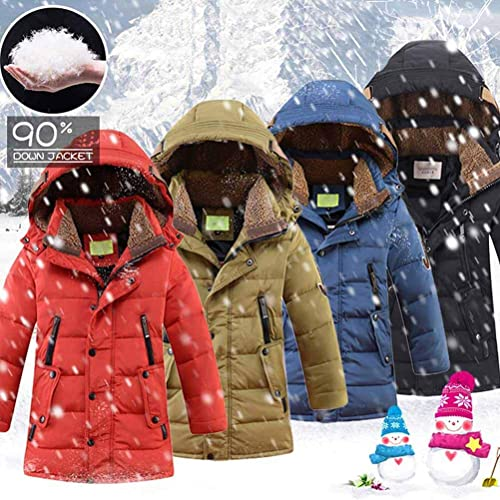 Boys Jade Green Hooded Padded Winter Coat Quilted Puffer Kids Jacket.Sizes:8-14y