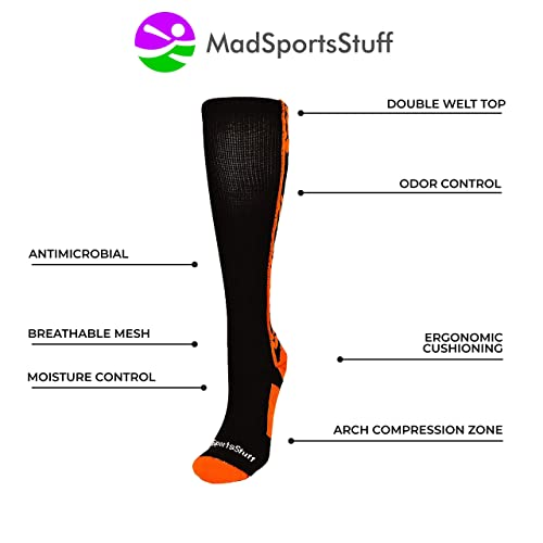 Hedgehog Socks Girls Over Calf Otc Long Knee Sports Soccer Fun Crazy Softball