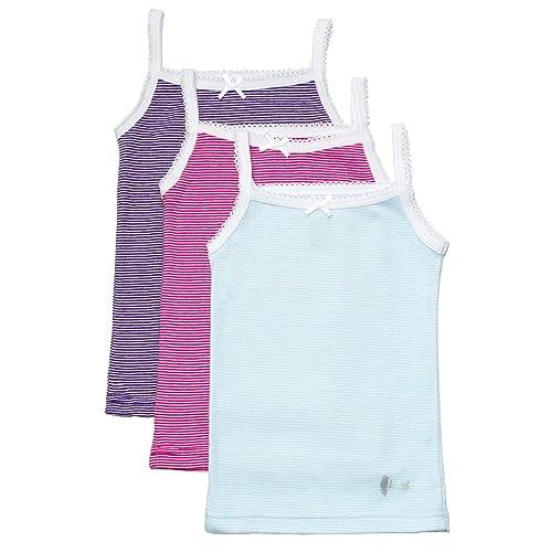 Sweet /& Sassy Girls 3 Pack Cami Undershirt