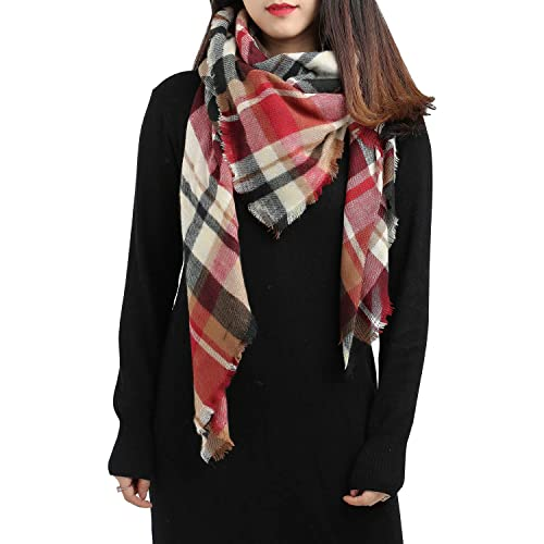 Ted and Jack Teds Classic Cashmere Feel Checkered or Plaid Scarf 2