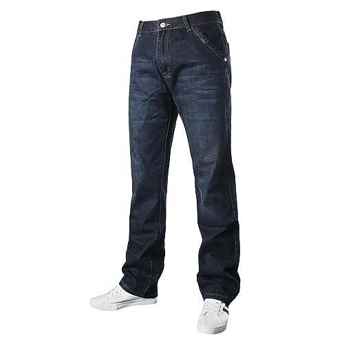 Rocawear Men/'s Designer Jeans Hip Hop Star Is Money Time Loose Fit Denim G