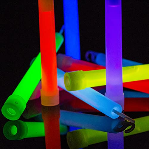 5 x Glow Sticks 6 Inch Premium Glowhouse Brand