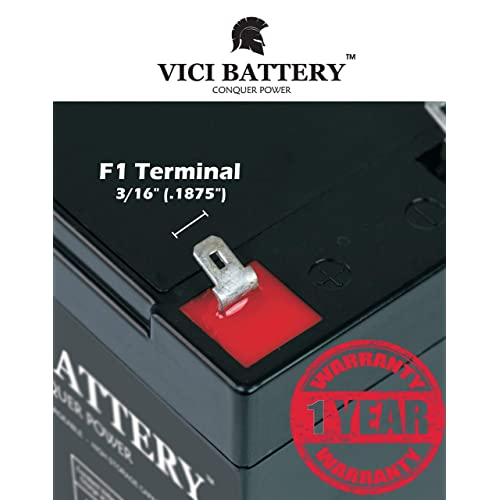 12V 7AH Version Enersys NPX-35 Replacement by VICI Battery Brand