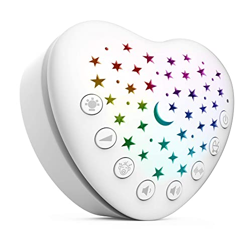 Buy Berest A13 White Noise Machine Baby Sleep Soother With 15 Soothing Sounds Projector Led Star Night Light Cry Sensor Rechargeable Lithium Battery Portable For Baby Gifts Children Toddlers Online